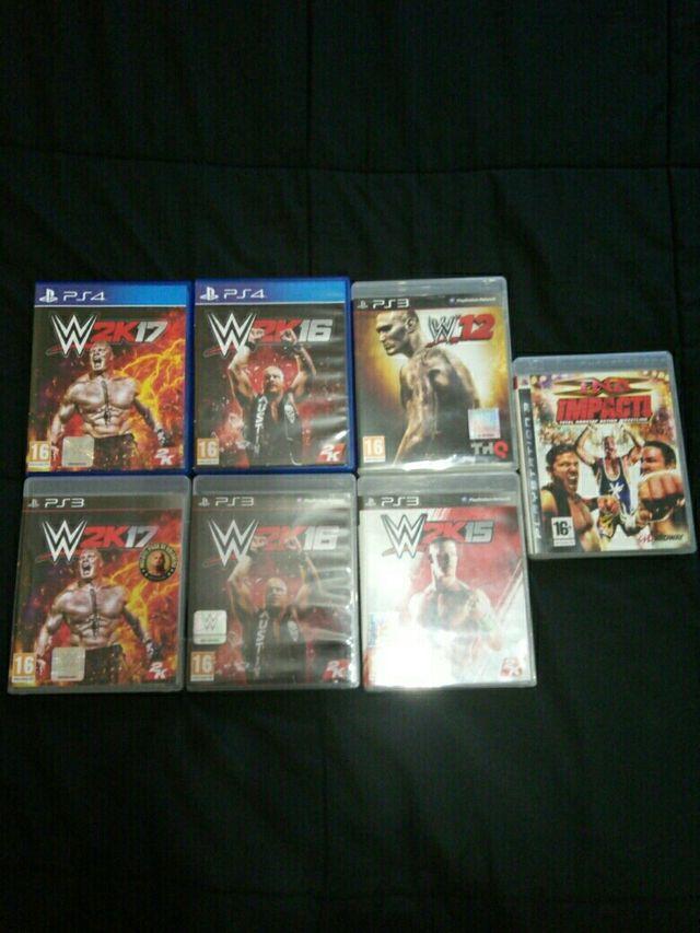 Videojuegos de Wrestling / PS4 & PS3