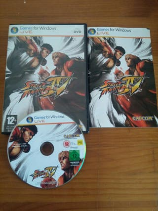OFERTA JUEGO PC STREET FIGHTER 4