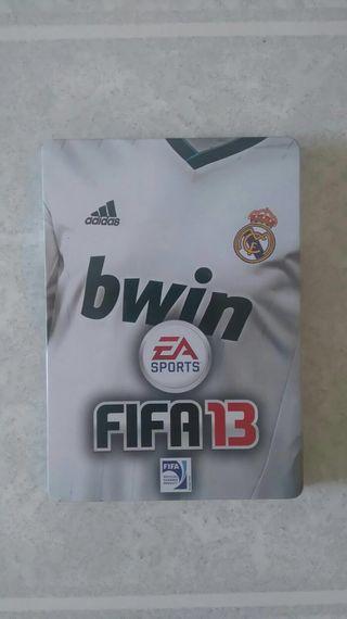 Play station 3 Fifa 13 edición Real Madrid