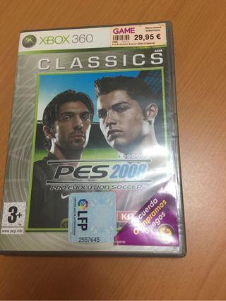 Juego XBOX 360 PES2008