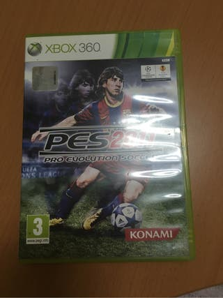Juego XBOX 360 PES2011