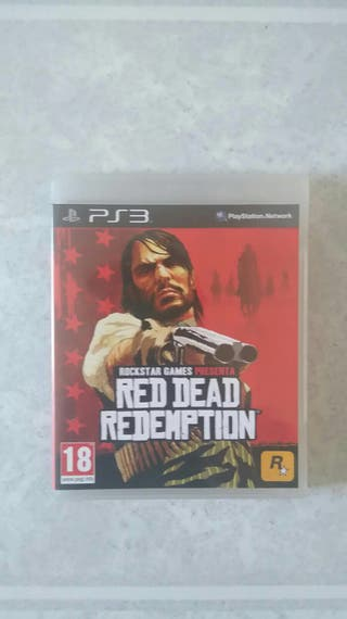 Play station 3 RED DEAD REDEMPTION