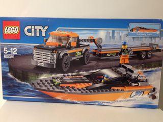 Lego Camion Con Lancha