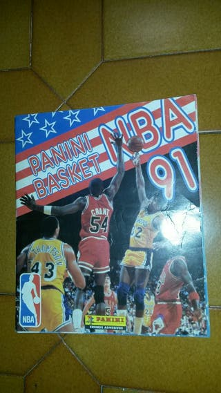 Álbum NBA Basket 91 de Panini