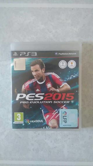 Play station 3 PES 2015