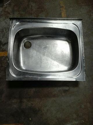 fregadero 60 x 50 pila acero inox