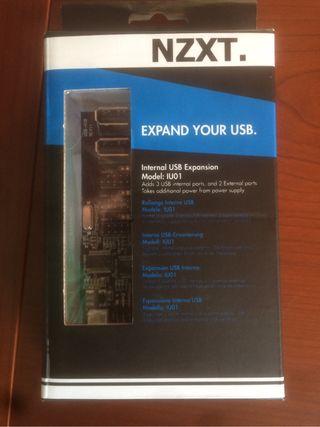 NZXT IU01 expansión USB interno