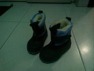 botas lluvia nieve