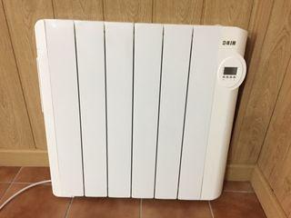 Radiador bajo consumo electric
