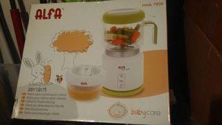 robot para hacer las frutas y pures para el bebe