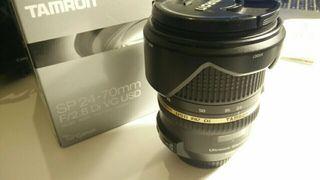 Tamron 24-70mm para Canon