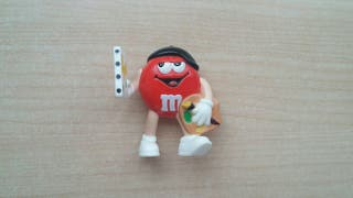 Figurita M&M rojo