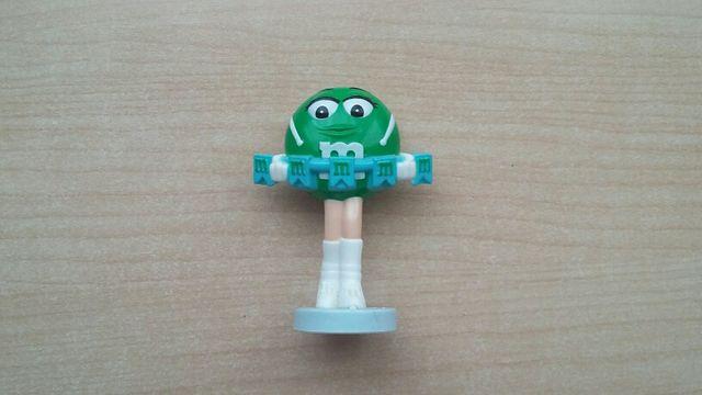 Figurita M&M verde