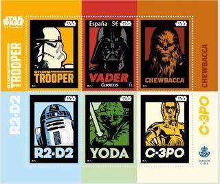 Sellos Star Wars Limitados