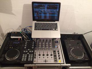 Vendo Equipo de Sonido DJ (Cdjs 350 + mixer djm70