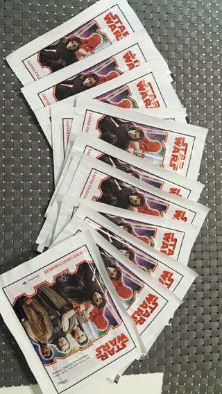 cromos carrefour star wars