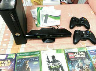 Xbox 360 con 11 juegos