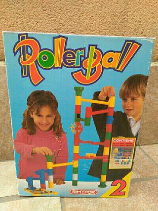 Roller Ball juguete arquitectura tuberías pelota