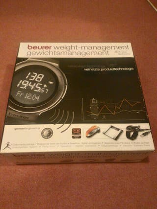 Báscula/Pulsómetro/Speedbox 3en1