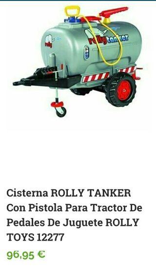 Cisterna Rolly Tanker con pistola