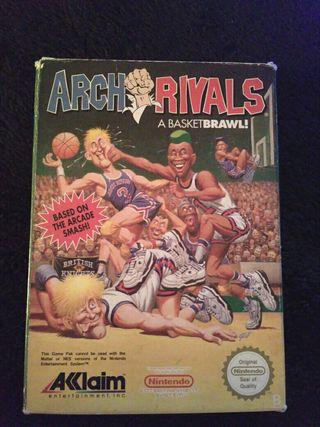 Arch Rivals Nintendo Nes