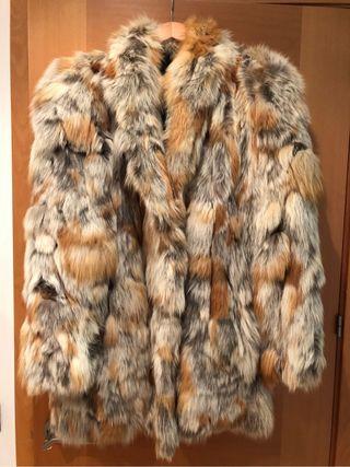 Abrigo piel de zorro Canada