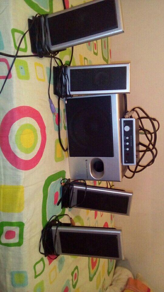 equipo de sonido Altec lansing