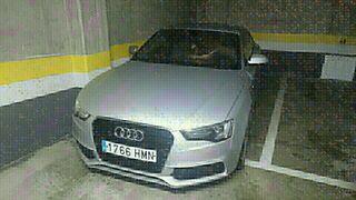 Audi A5 plata, matrícula 1766HMN, excelente estado