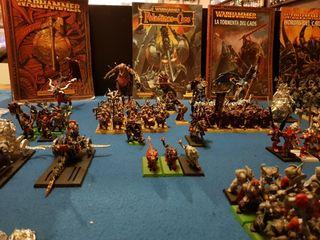 Ejército del caos warhammer