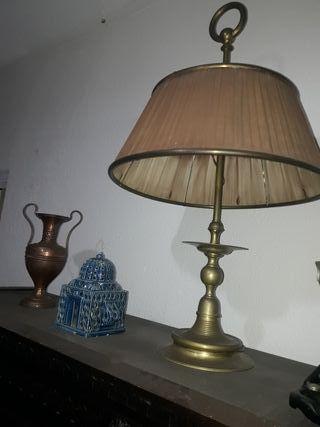 L mparas de bronce de segunda mano en valencia en wallapop - Lamparas en valencia ...
