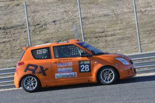 Suzuki Swift Sport Cup Circuito