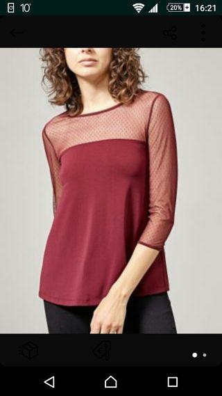 Camiseta blusa plumeti stradivarius