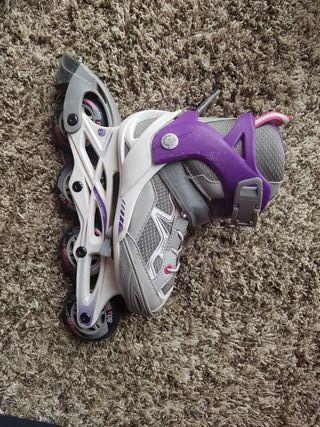 patines en línea extensibles de niña