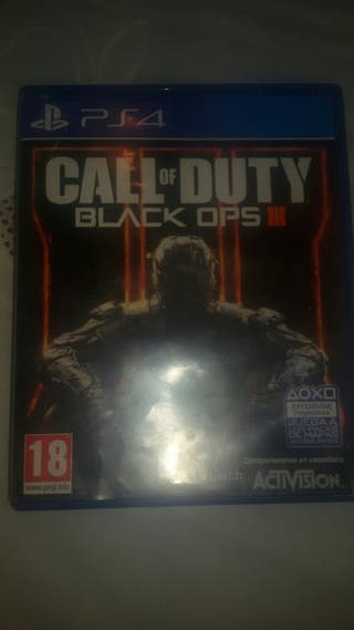 JUEGO- CALL OF DUTY BLACK OPS 3 PS4