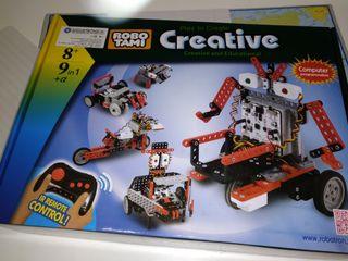 Kit construcci n rob tica creative robotami de segunda for Robot piscina segunda mano