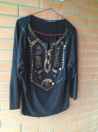 blusa color negro