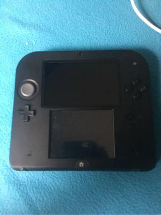 Nintendo 2ds + 7juegos
