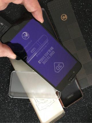 Funda y cristal iphone 7 plus