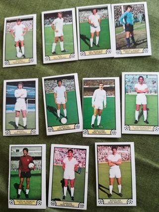 Cromos Real Madrid temporada liga 1979/80