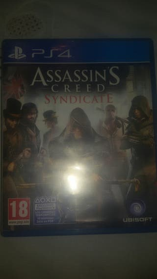 JUEGO- ASSASIN'S CREED SYNDICATE PS4