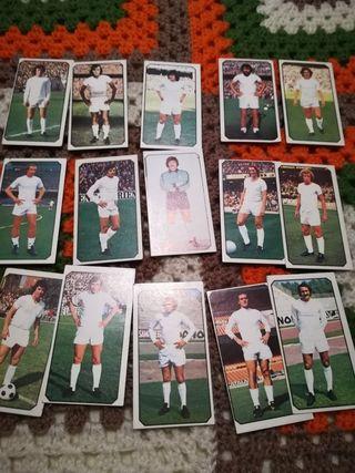 Cromos Real Madrid liga 77-78