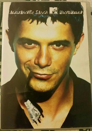"DVD Alejandro Sanz ""Unplugged"""