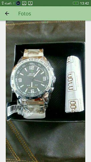 Reloj sumergible 3AT bisel Giratorio