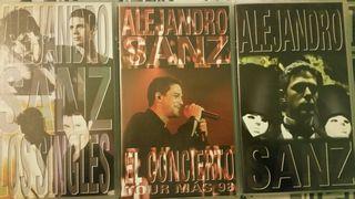 """Alejandro Sanz """"Los videos"""""""