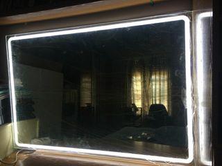 espejo baños con luz led incorporada
