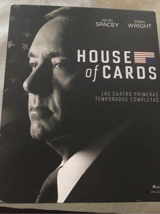 House of cards temp. 1-4