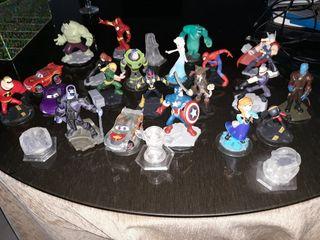 muñecos de infinity juego wiiu