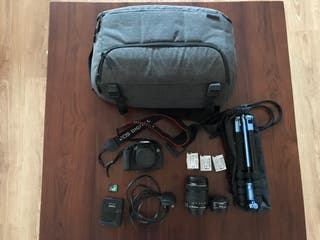 Canon EOS-650D Pack