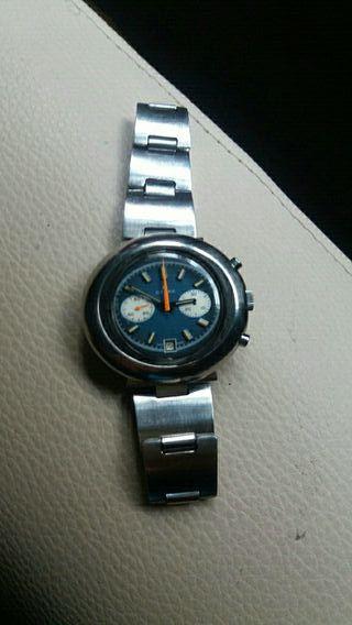 reloj crono vintage valyoux 7734