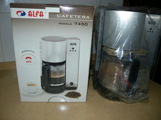 Cafetera alfa jarra extraible